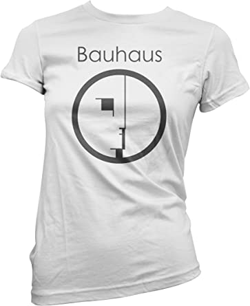 LaMAGLIERIA Camiseta Mujer Bauhaus Camiseta 100% Algodon: Amazon.es: Ropa y accesorios