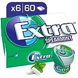 Extra Gum Spearmint, Bottle 84 gm, 6 x 60 pellets
