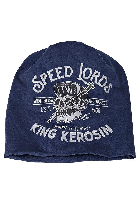 King Kerosin Speed Lords Boina, Azul, Einheitsgröße para Hombre ...