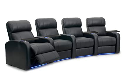Amazon.com: Octane Seating Diesel XS950 Home Theater Seats Black Top ...