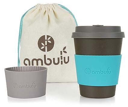 Taza de café reutilizable para viajes y para llevar a cabo 350 ml, taza de