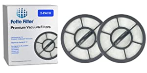 Fette Filter - Exhaust Vacuum Filter Compatible with Eureka Airspeed EF-7 Models AS3001A, AS3008A, AS3011A, AS3030A. Compare to Part # 091541 (2-Pack)
