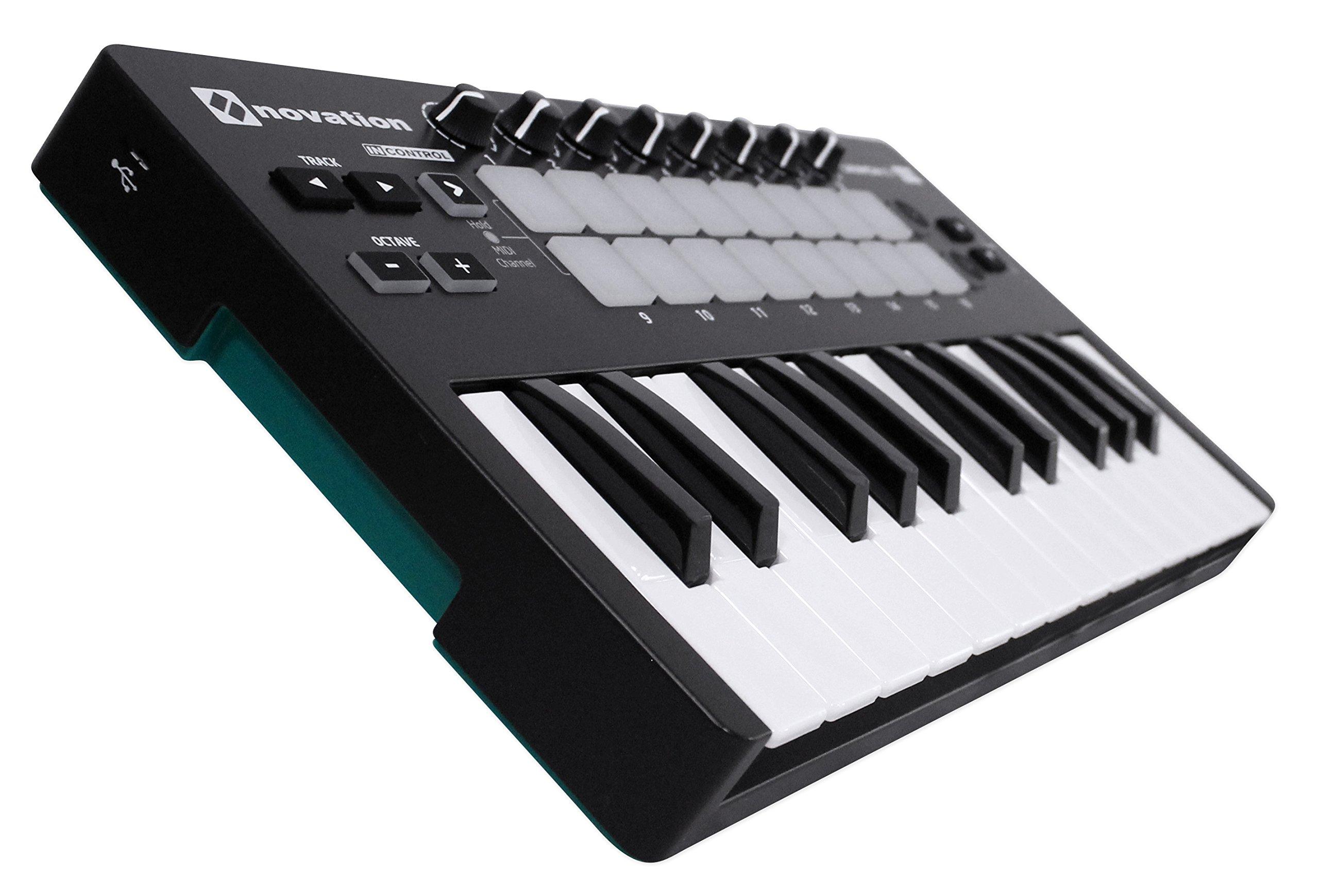 Novation LAUNCHKEY MINI MK2 25 Key USB Keyboard Controller+Bluetooth Speaker by Nov (Image #2)