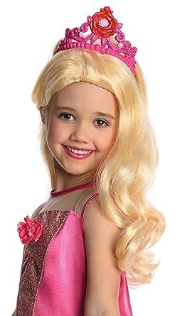 Amazon.com: Disfraz de Barbie Kristyn peluca – Niño STD ...