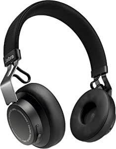 Jabra Move Style Edition, Titanium Black– Wireless Bluetooth Headphones with Superior Sounds Quality, Long Battery Life, Ultra-Light and Comfortable Wireless Headphones, 3.5 mm Jack Connector Included