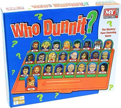 M.y Whodunit misterio de la cara Juego de adivinar: Amazon.es ...