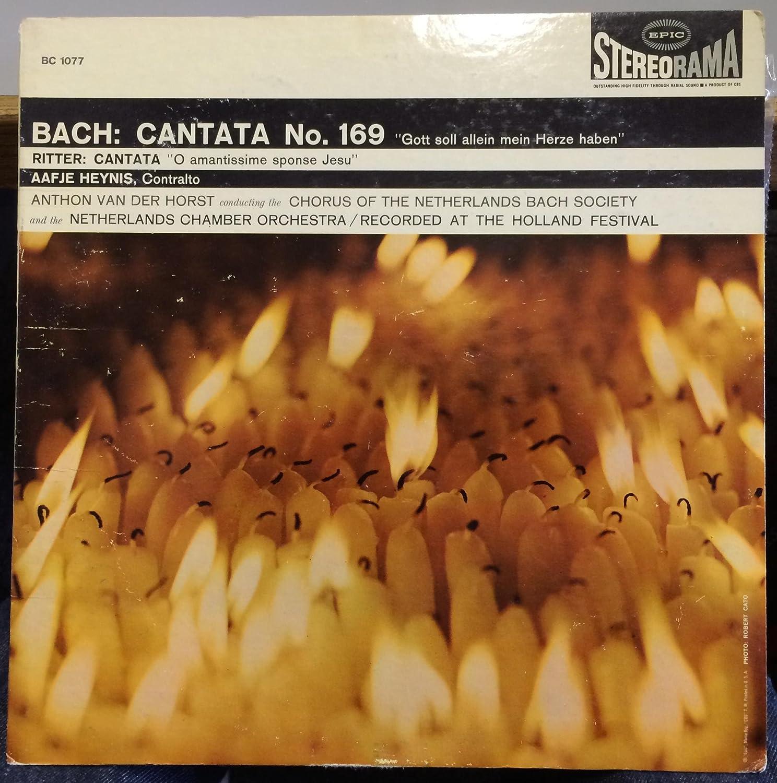 Amazon.com: Aafje Heynis Bach Cantata No 169 vinyl record: Music