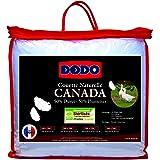 Dodo - Couette Canada 50% Duvet 240x260 Très chaude Naturel Anti-Acariens