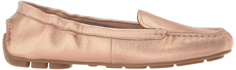 Taryn Rose Womens Kristine Powder Metallic Driving Style Loafer