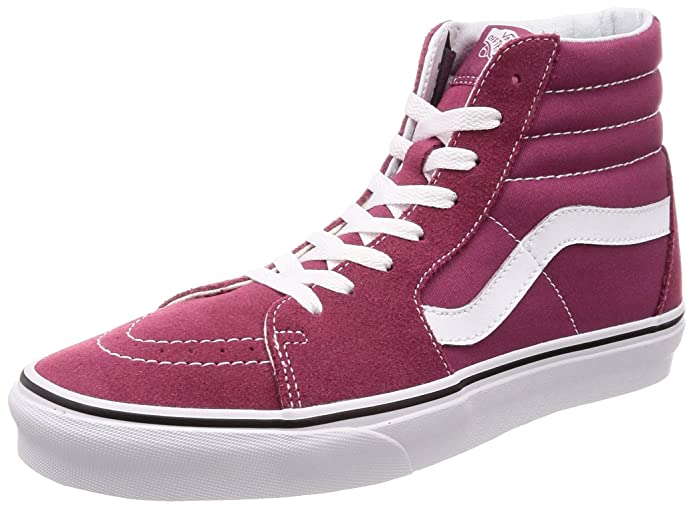 Vans Unisex Erwachsene SK8-Hi High Top Sneakers Rot Dry Rose