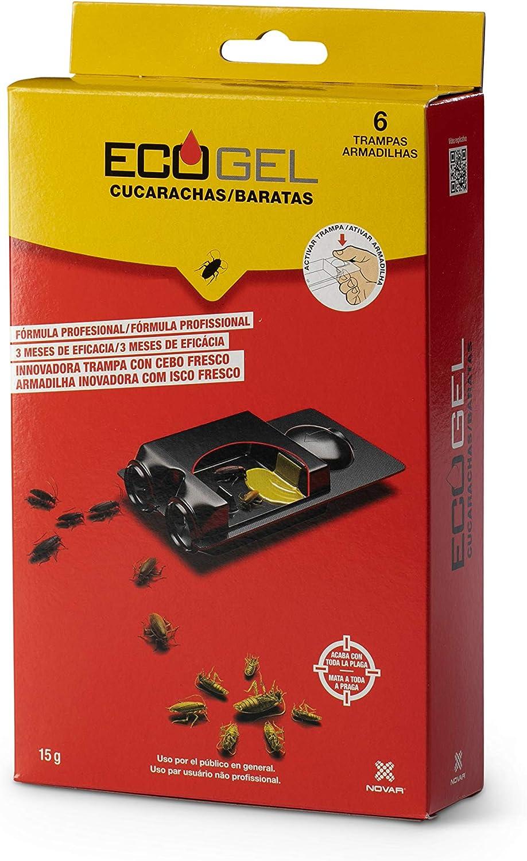 ECOGEL NOVAR Trampa Cucarachas 15 grs