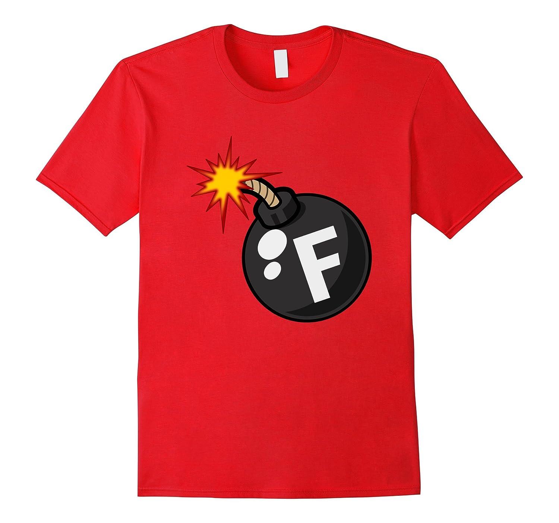 F Bomb t-shirt Offensive Gift Idea Novely Mens Sarcastic tee-Art