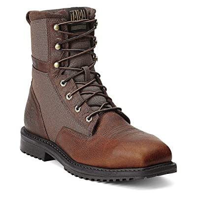 "ARIAT Men's Rigtek 8"" Wide Square Toe Composite Toe Work Boot 
