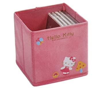 117d6c656 Pink Hello Kitty CD Case Holder - Hello Kitty CD Storage: Amazon.co.uk: Toys  & Games