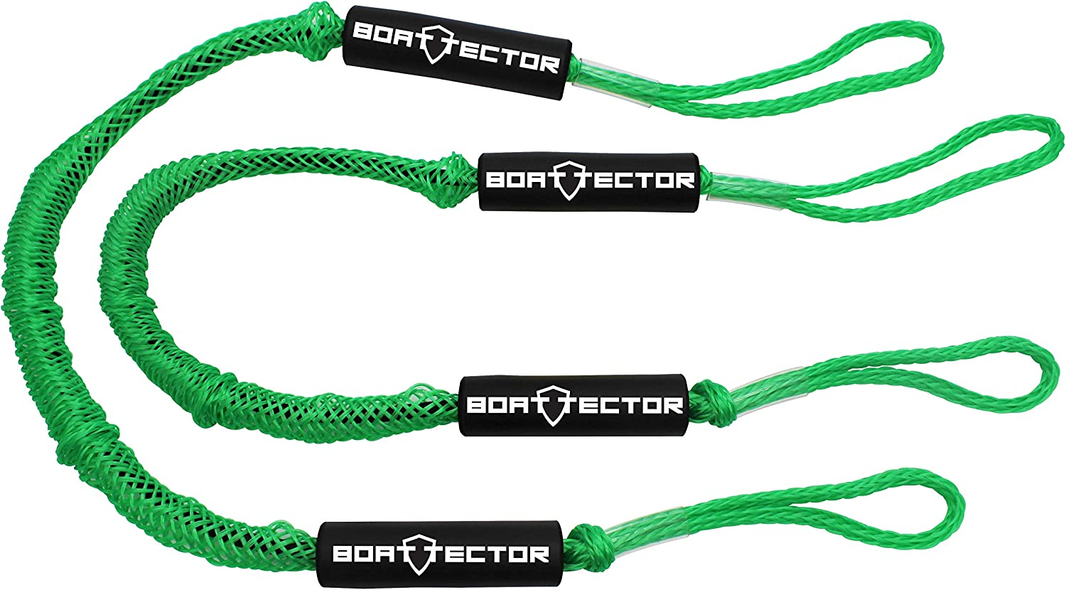 Extreme Max 3006.2577 BoatTector PWC Bungee Dock Line  6 Value 2-Pack