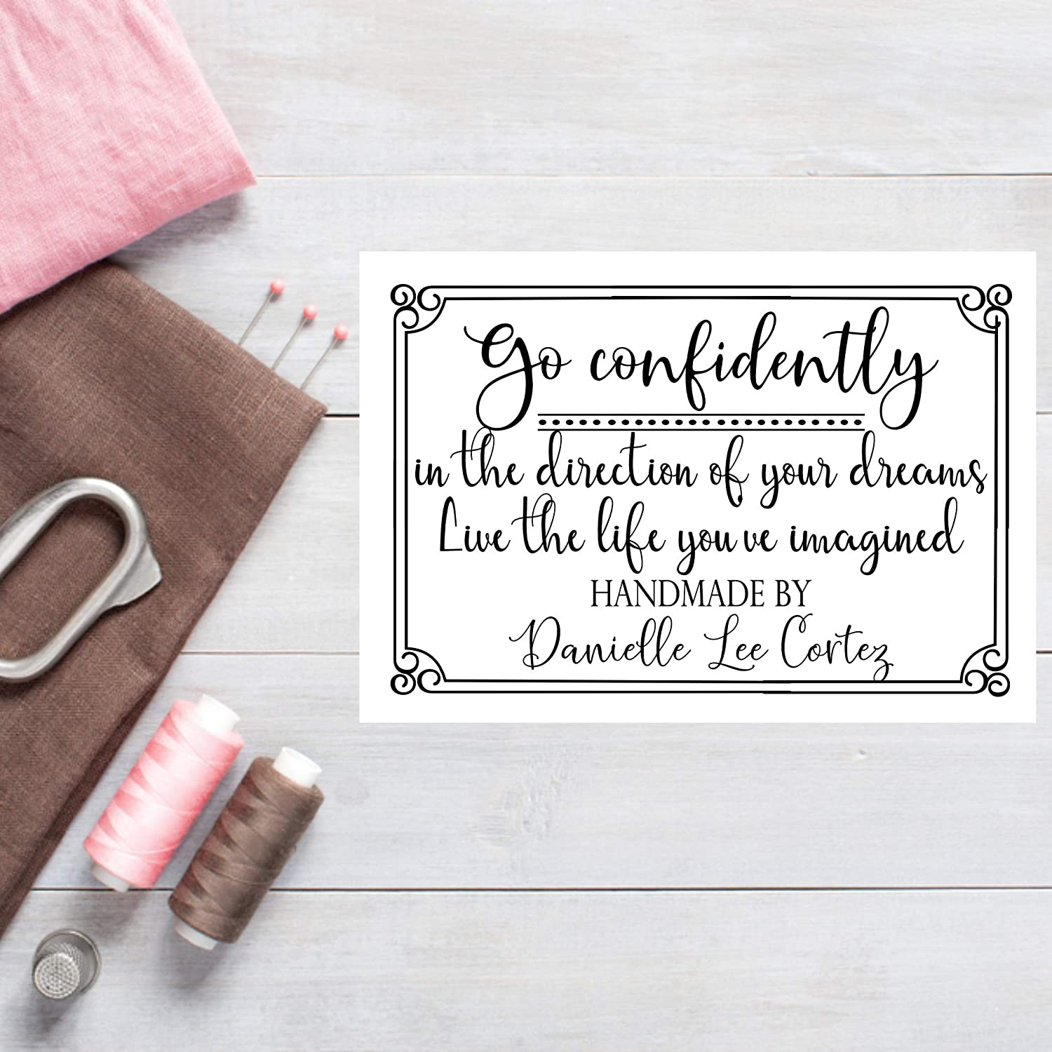 Go Confidently Quilt Labels