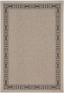 """product image for Elsinore-Motif Coal 3' 11"""" x 5' 6"""" Rectangle Machine Woven Rug"""