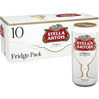 Stella Artois Lager Beer Can, 10 x 440 ml