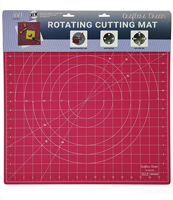 Crafters Dream Rotating Cutting Mat For Quilting