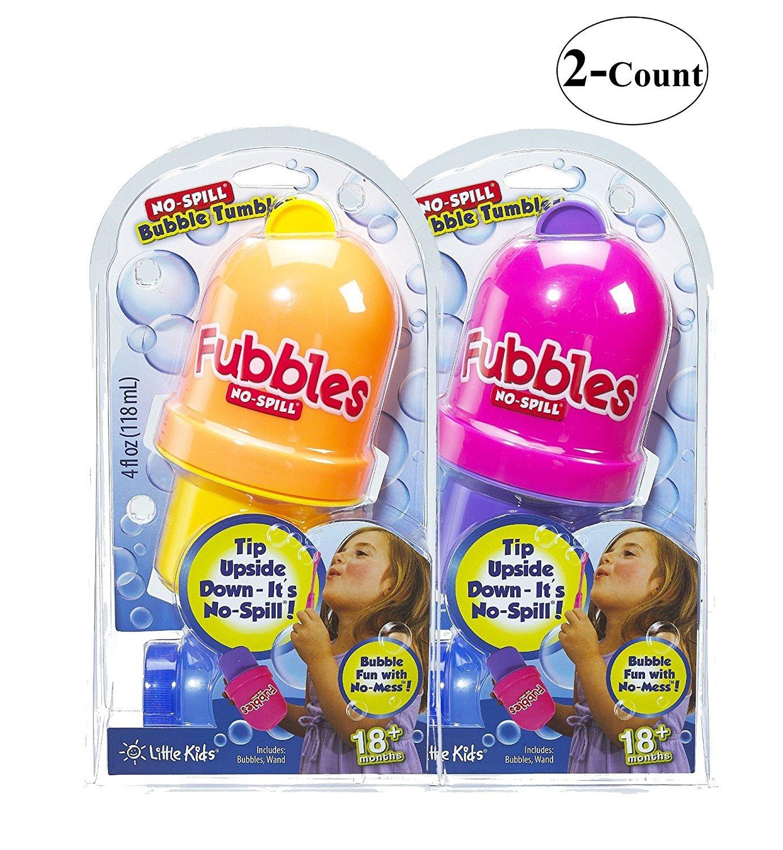 Little Kids Fubbles No-Spill Bubble Tumbler, 2 Piece