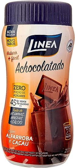 Achocolatado em Pó Zero Açúcar Linea 210g