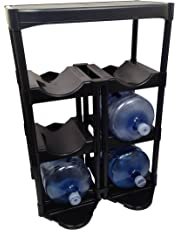 Bottle Buddy Complete Storage System, Black