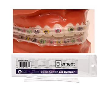 Amazon element braces comfort lip bumper orthodontic dental element braces comfort lip bumper orthodontic dental solutioingenieria Choice Image