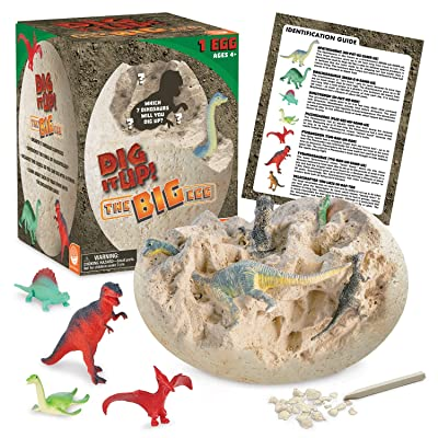MindWare Dig It Up! (Big Egg Excavation kit): Toys & Games