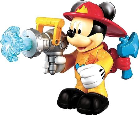 La Casa de Mickey Mouse - Mickey Bombero parlanchín, Figuras y Set de Juegos (Mattel X8519): Amazon.es: Juguetes y juegos