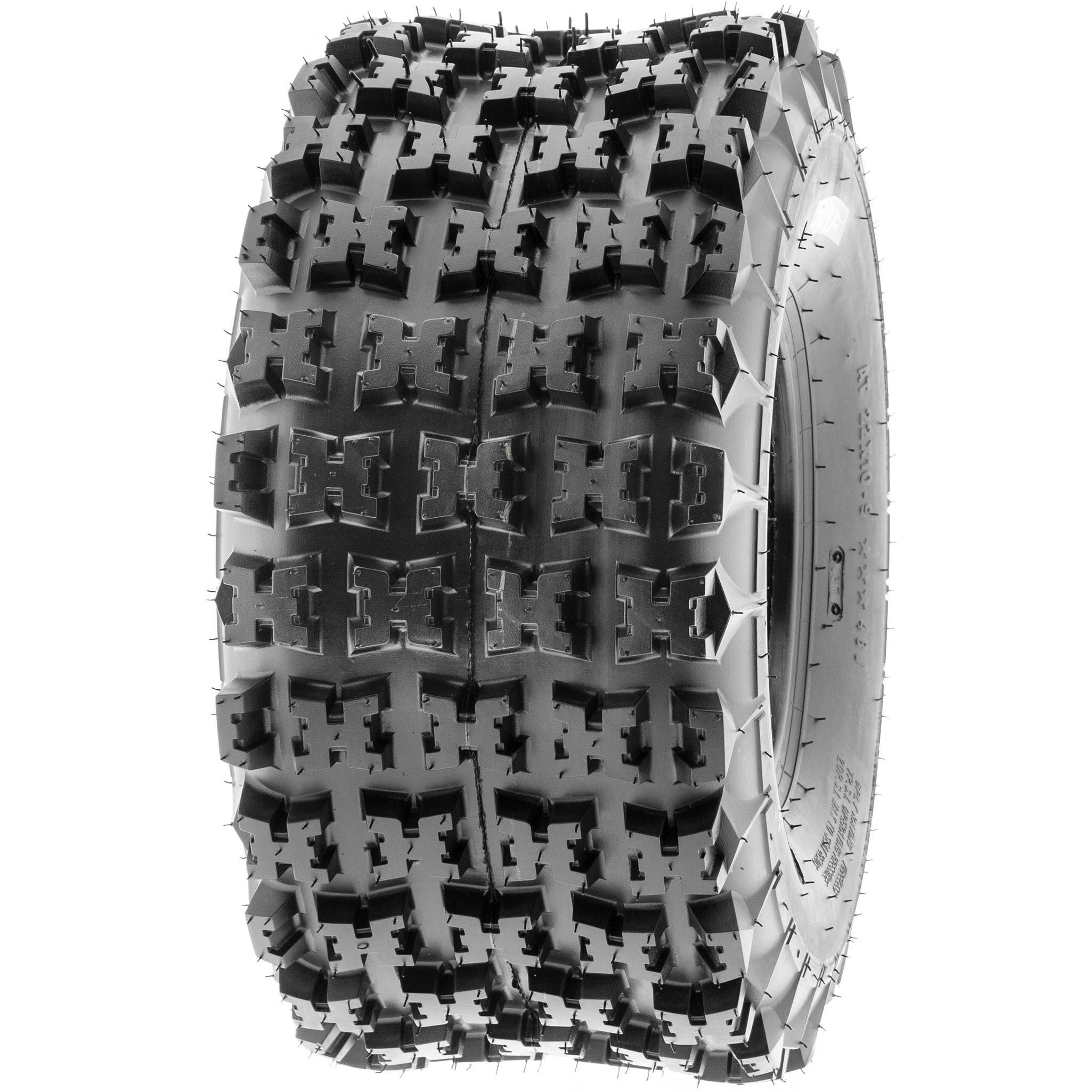 SunF 18x10.5-8 18x10.5x8 ATV UTV All Terrain Race Replacement 6 PR Tubeless Tires A027, [Set of 2] by SunF (Image #8)