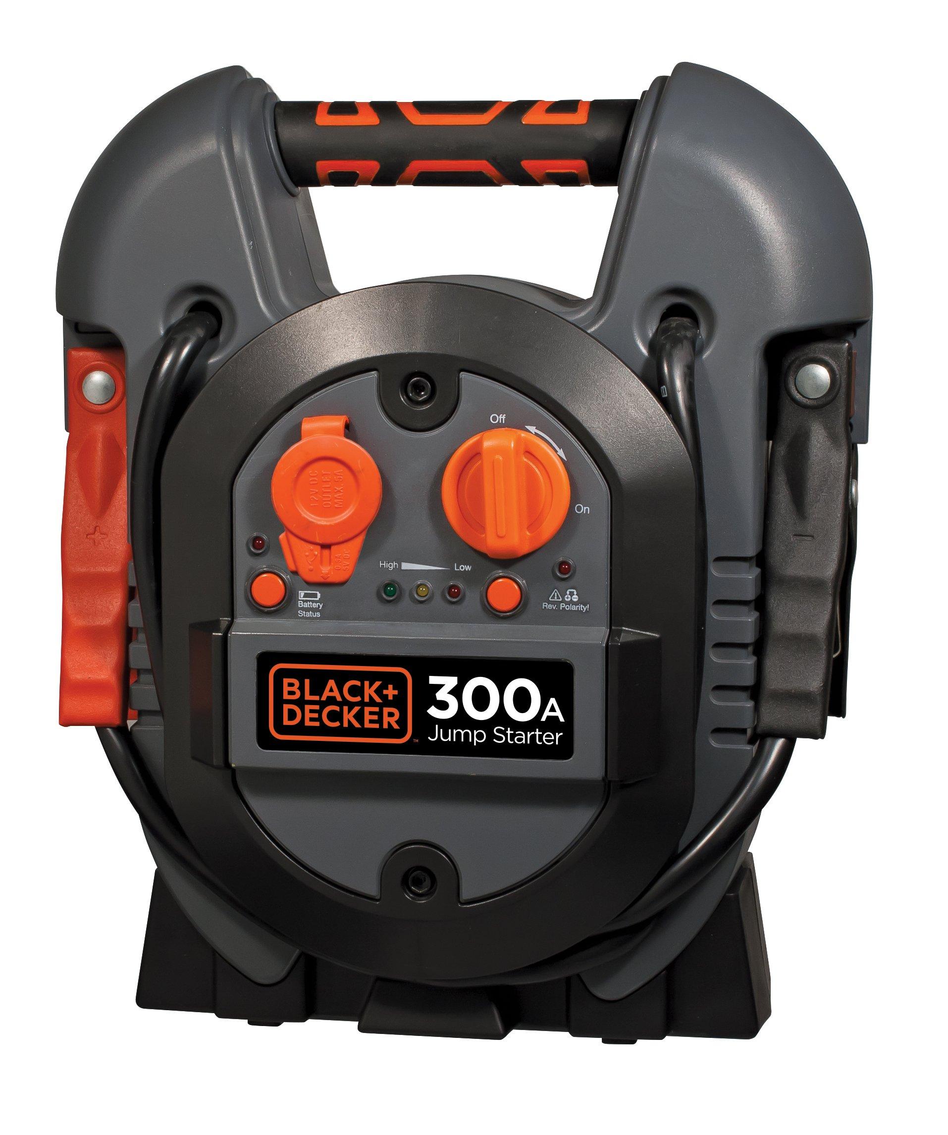 BLACK+DECKER J312B Jump Starter: 600 Peak/300 Instant Amps by BLACK+DECKER (Image #1)