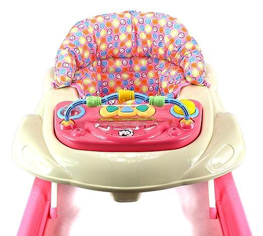 Amazon.com: bebemio Musical Play Mates Baby Walker W/altura ...