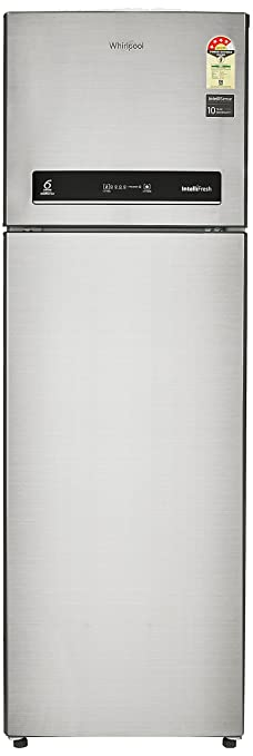 Whirlpool 292 L 4 Star Frost Free Double Door Refrigerator(IF INV 305 ELT, Cool Illusia Steel, Inverter Compressor) Refrigerators at amazon