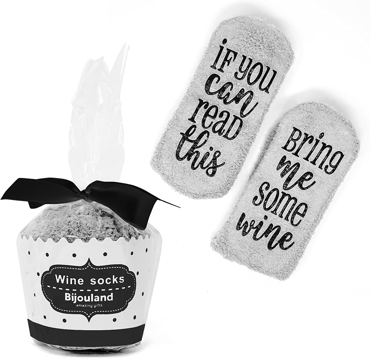 Unisex If You Can Read This Bring Me a Glass of Wine Easter Beer Socks Red//Black