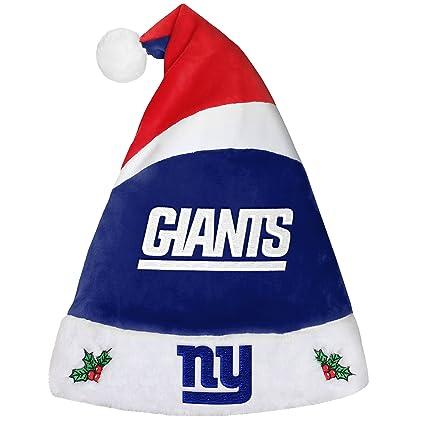 ... ebay foco new york giants 2016 basic santa hat 68878 772dd coupon code  for new york giants holiday christmas ... c6a5c7176