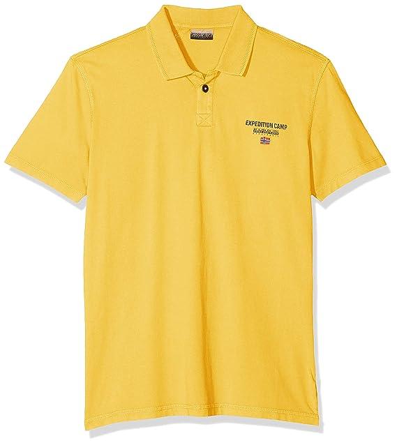 Napapijri Eonthe Freesia Yellow Polo para Hombre: Amazon.es: Ropa ...