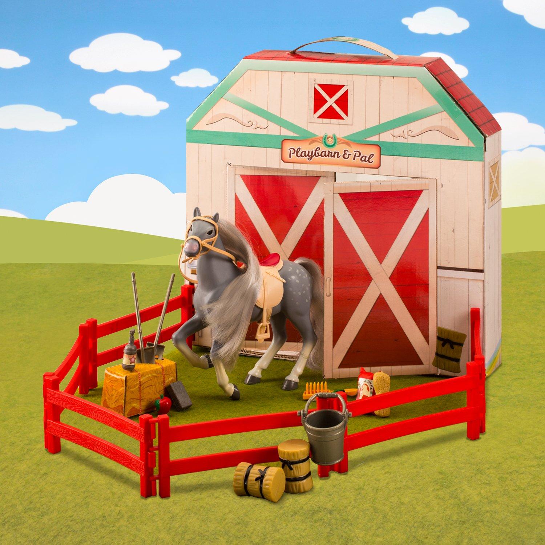 Lanard Horse Play Corral Stable Set