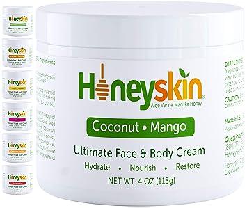 Amazon Com Face And Body Moisturizer Cream Natural Facial Skin