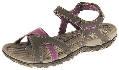 Footwear Studio Gola Sport- & Outdoorsandalen für Damen Wanderschuhe Hellbraun und Leuchtend Rosa EU 39 IUZX3oOo