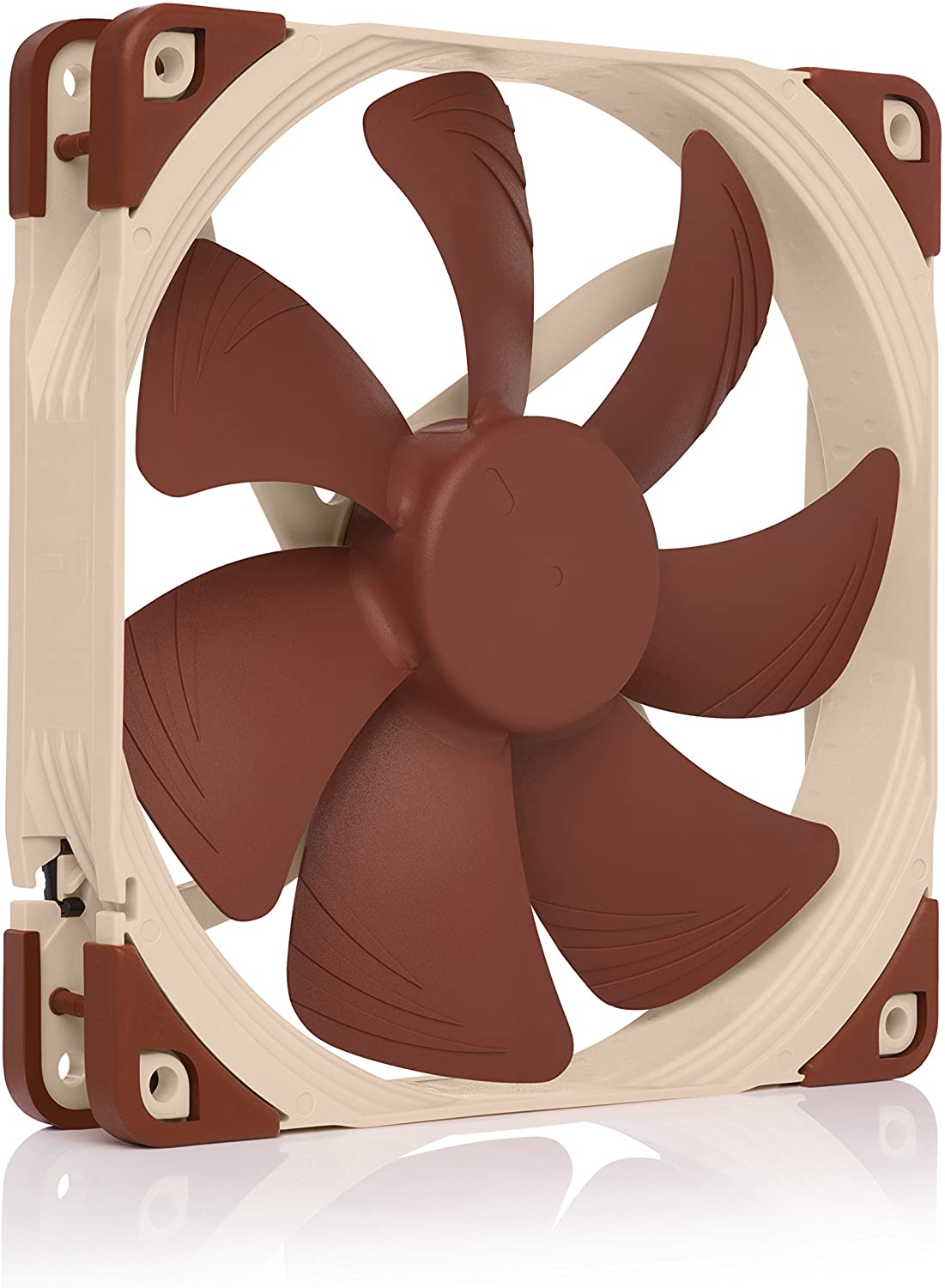 Noctua NF-A14 PWM, 4-Pin Premium Quiet Cooling Fan (140mm, Brown)