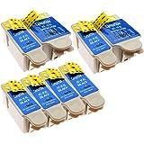 Kodak 10B / 10C - 8 Compatible Printer Ink Cartridges (2 Sets + 4 extra Black) for Kodak Easyshare ESP3 ESP5 ESP7 ESP9 ESP3200 ESP3250 ESP5000 ESP5210 ESP5100 ESP5200 ESP5210 ESP5250 ESP5300 ESP5500 ESP7250 ESP7200 ESP7250 ESP9200 ESP9250 Office6100 Office6150 Hero6.1 Hero7.1 Hero9.1 Printers