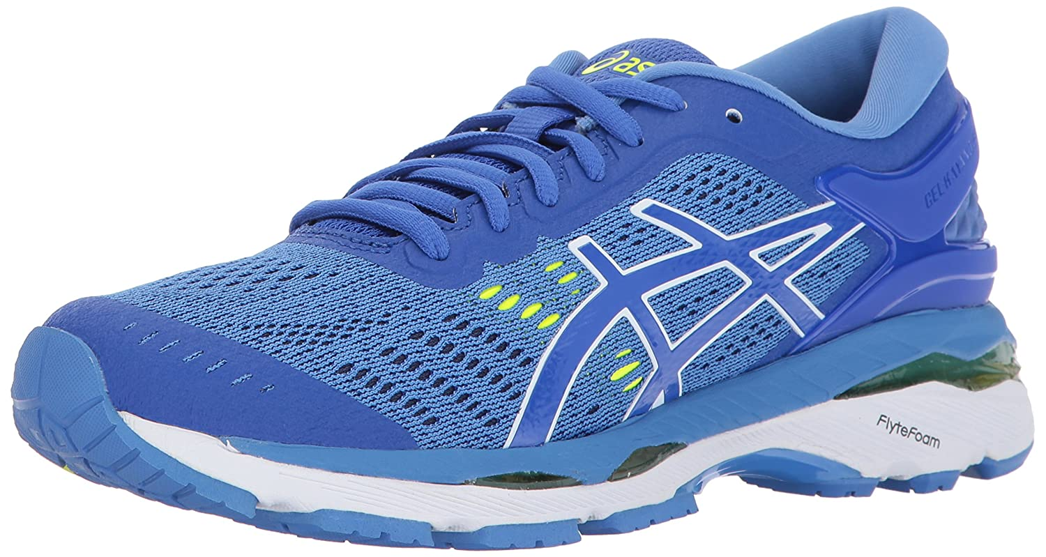 ASICS Womens Gel-Kayano 24 Running Shoe, Purple/Regatta Blue/White, 7 D US