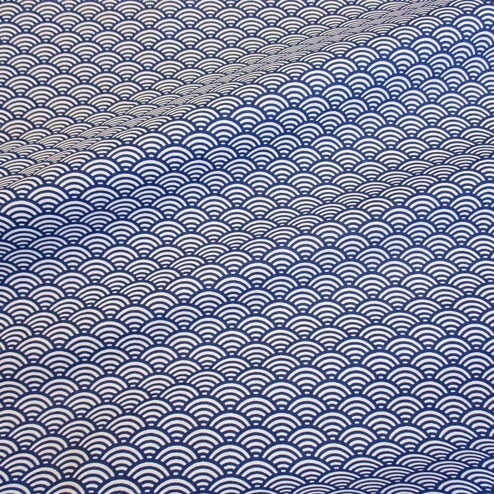 Japanese Indigo Classics 100/% Cotton Fabric Navy Blue per metre