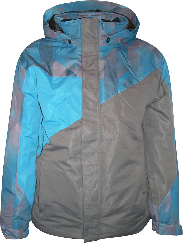 Kids Winter Ski Coat Pulse Urban Camo insulated,pockets waterproof ski parka