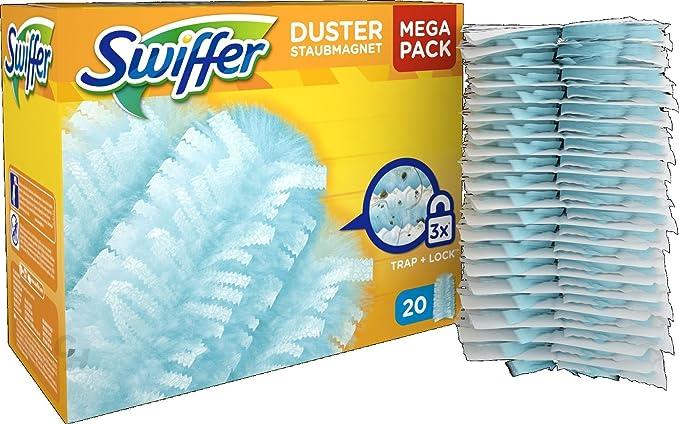 Swiffer el polvo imán de Starter-kit (1 asa & 3 toallas de) - 1 pcs - 6X: Amazon.es: Salud y cuidado personal