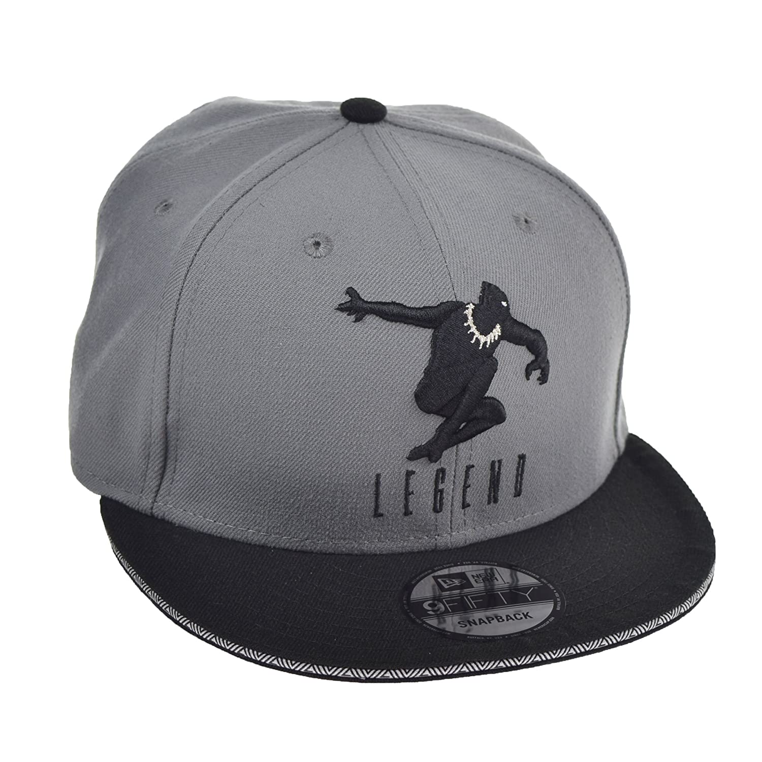 ... shopping new era black panther legend 9fifty mens snapback hat cap grey  black 11585954 size os 9348f3c7e782