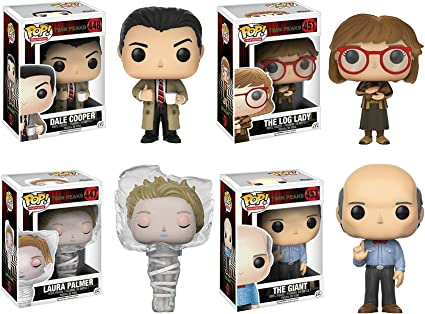 Vinyl Figure Collectible Toy Funko Twin Peaks Laura Palmer in Plastic Wrap Pop