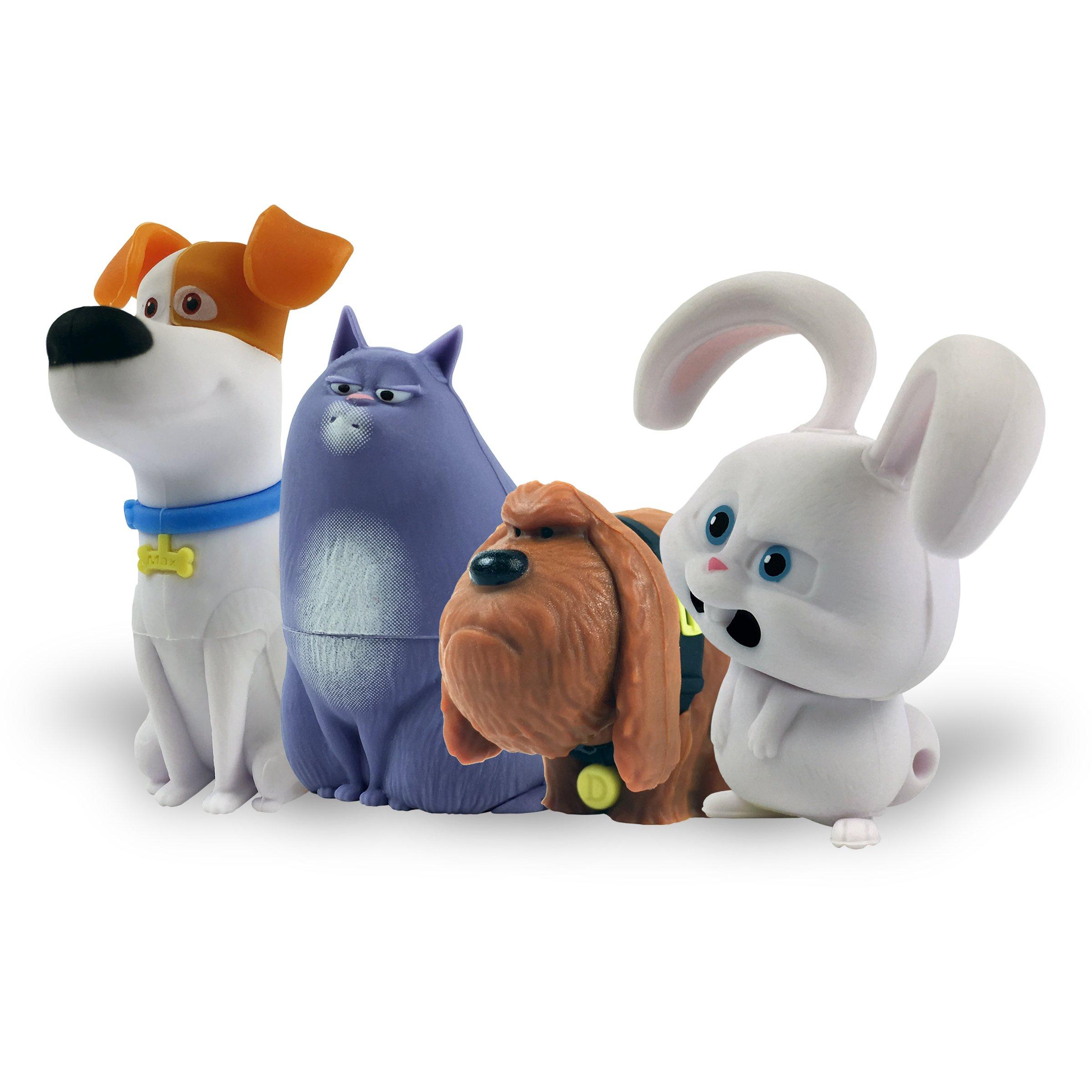 Secret Life of Pets, Character Bundle, 16GB USB Flash Drive (4-Pack)