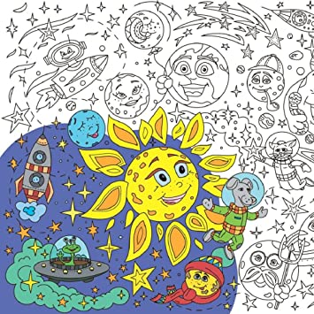 Amazon.com: O\'Kroshka Big Giant Coloring Poster colorings for ...