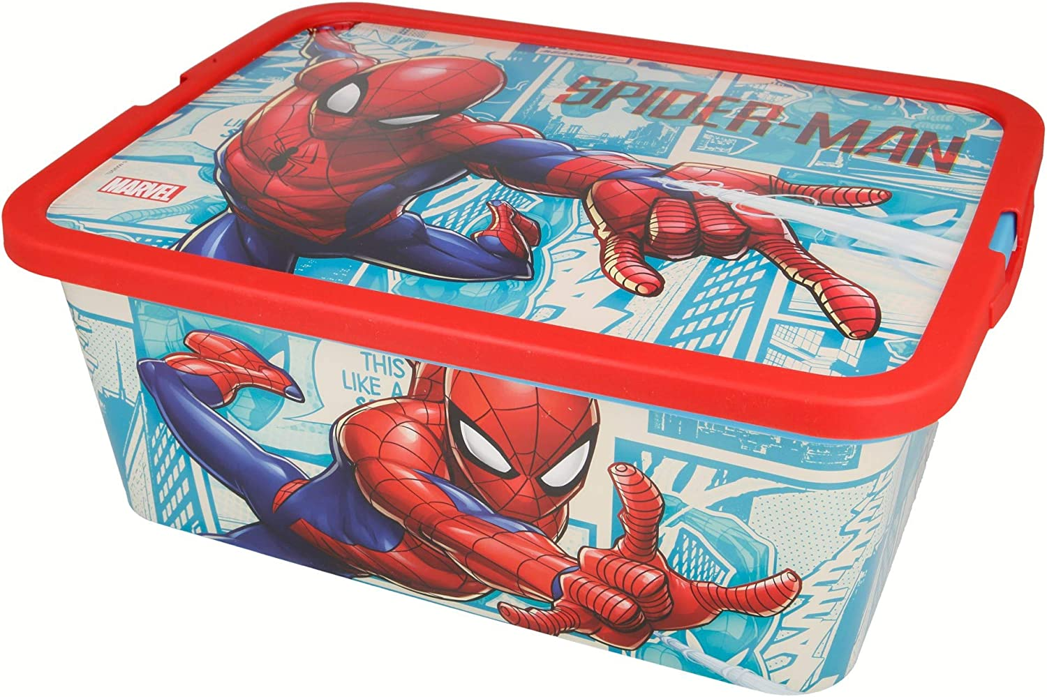 Stor Caja Click 13 L | Spiderman Comic Book